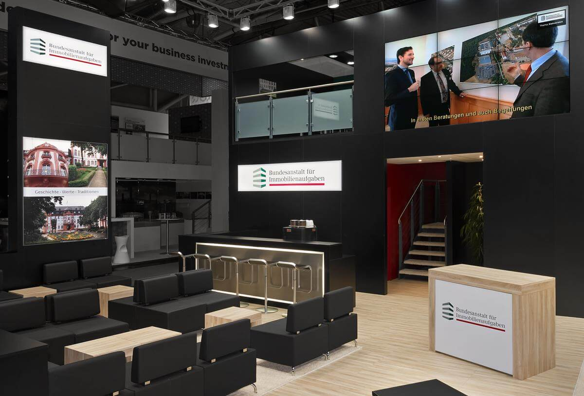 Exhibition Stand Builders In Munich : Exhibition stand bima expo real i xpo design