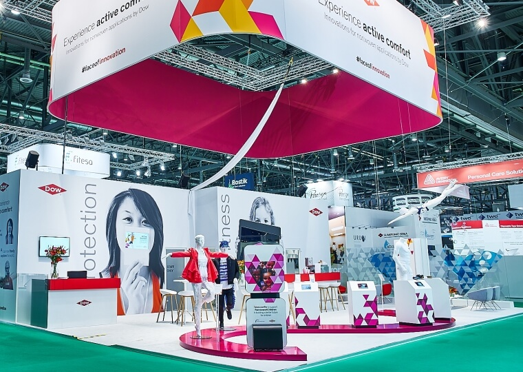 Exhibition Stand Framework : Exhibition stand dow chemical k i xpo design