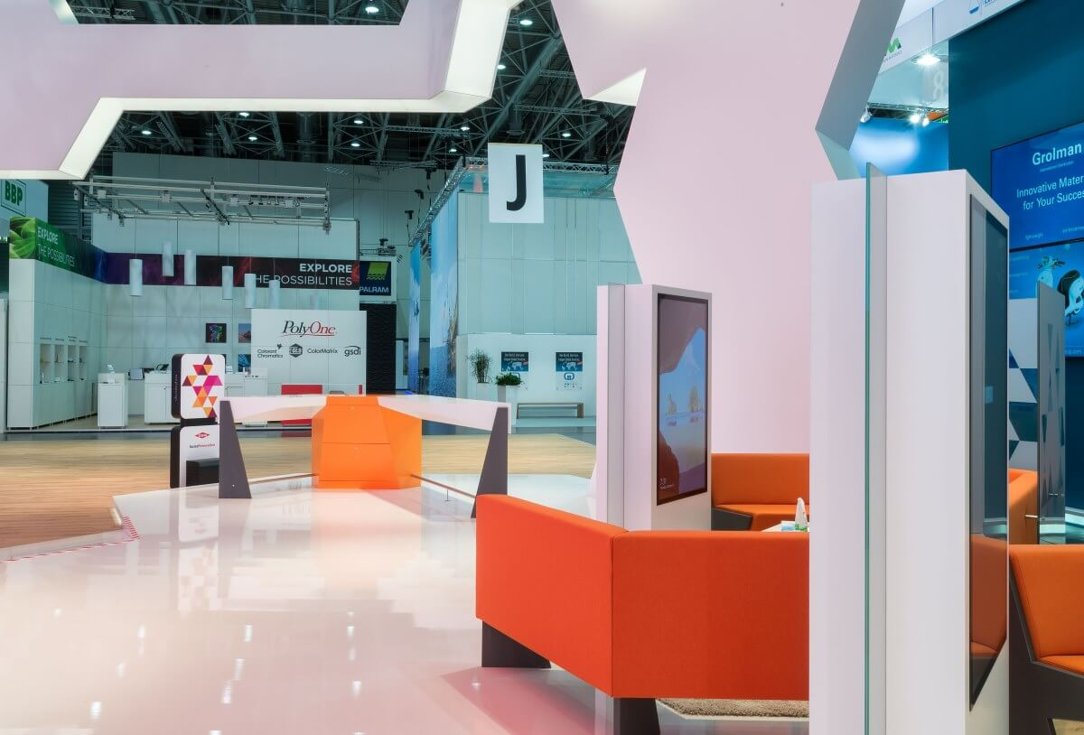 Exhibition stand   DOW Chemical   K 2016   i.xpo Design + Construction