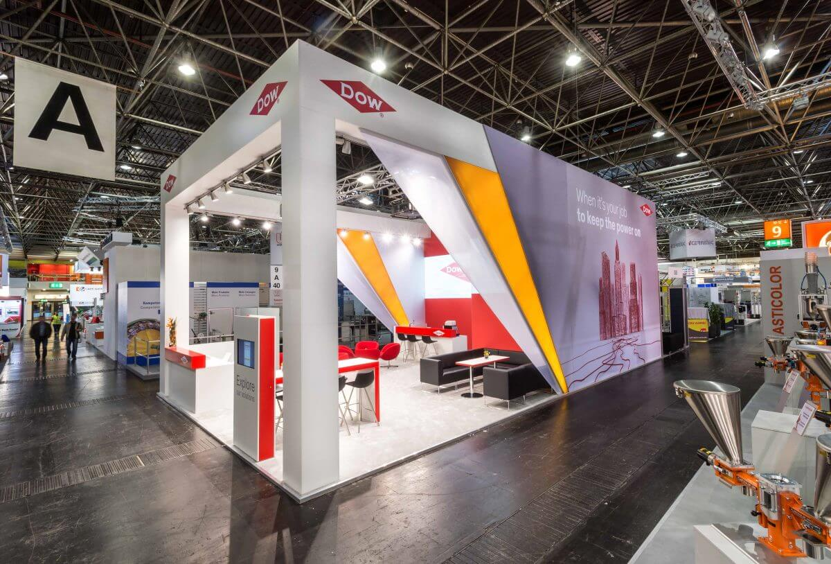 Exhibition stand | DOW | Tube & Wire | i.xpo Design + Construction