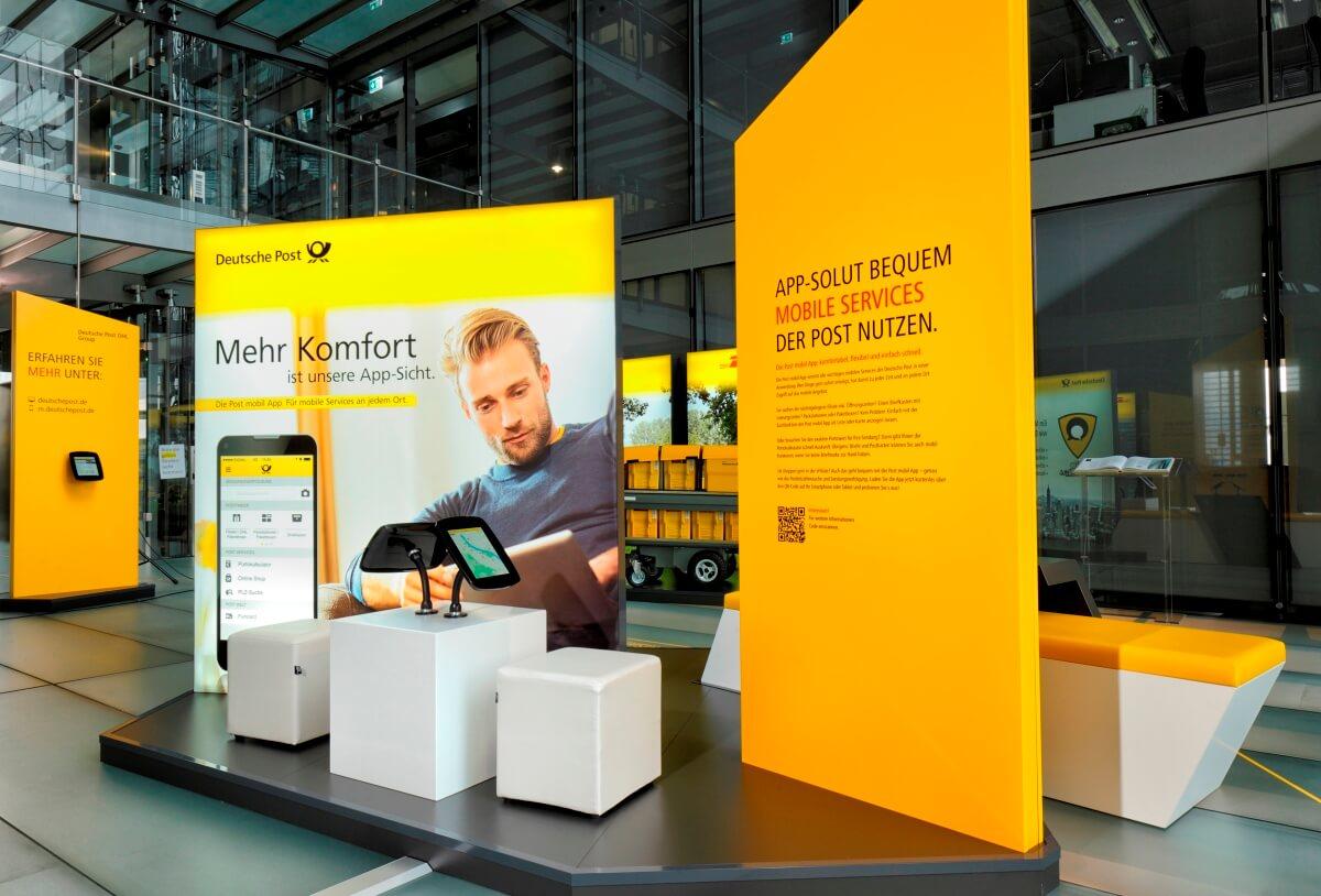 Markenwelt Deutsche Post Dhl Level 30 Ixpo Design Construction