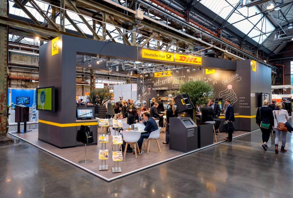 Expo Exhibition Stands S : Exhibition stand deutsche post dhl neocom i xpo