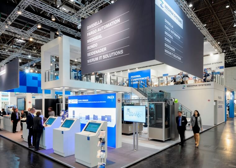 Messestand_Koerber_AG_Interpack_Duesseldorf_2017_ixpo