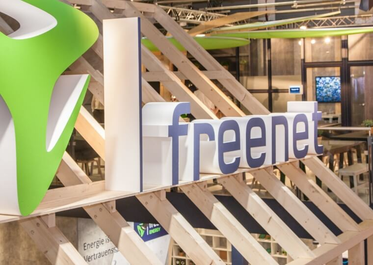 Messestand | freenet | IFA 2017 | Berlin | i.xpo Design + Construction | Messebau | Teaser