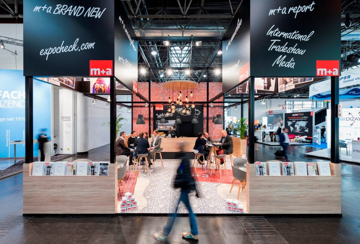 Exhibition Stand 2017 : Exhibition stand m a euroshop i xpo design