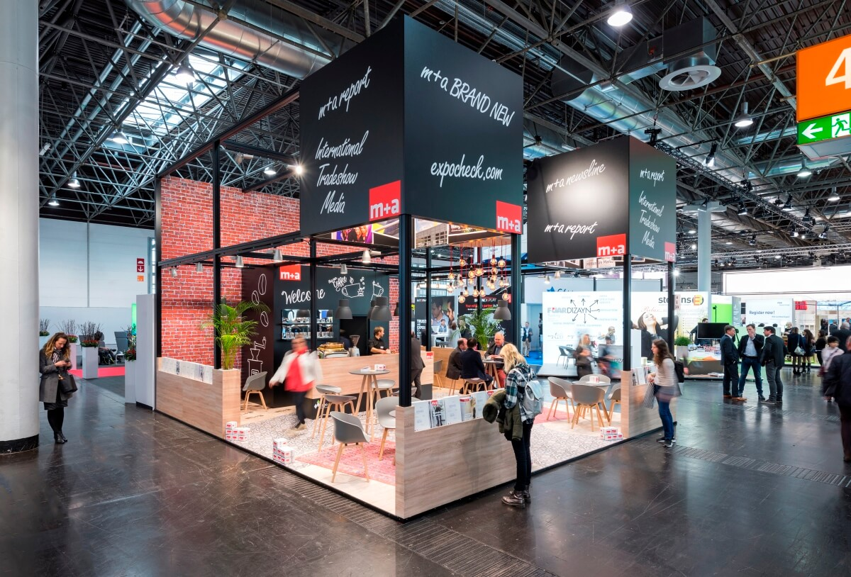 Expo Stands Trade Fair 2017 : Exhibition stand m a euroshop i xpo design
