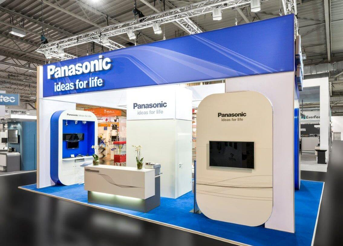 Small Exhibition Stand Design : Exhibition stand panasonic security i xpo