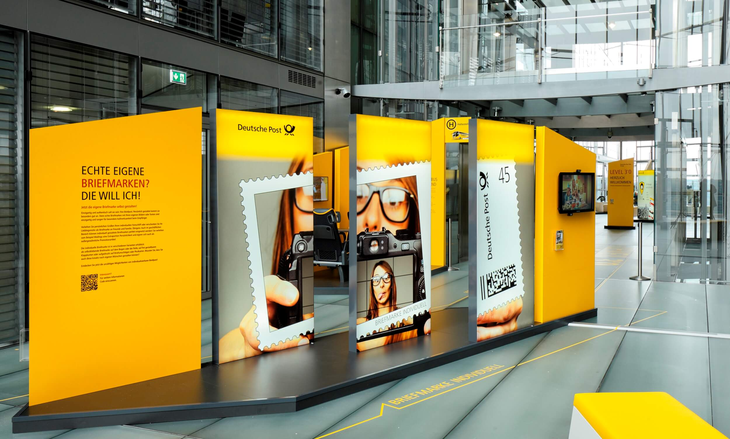 Markenwelt Showroom Deutsche Post DHL Group Level 3.0 Bonn
