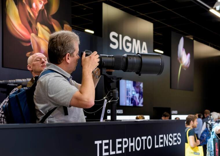 SIGMA Photokina Kameras Telephoto Lenses Teaser