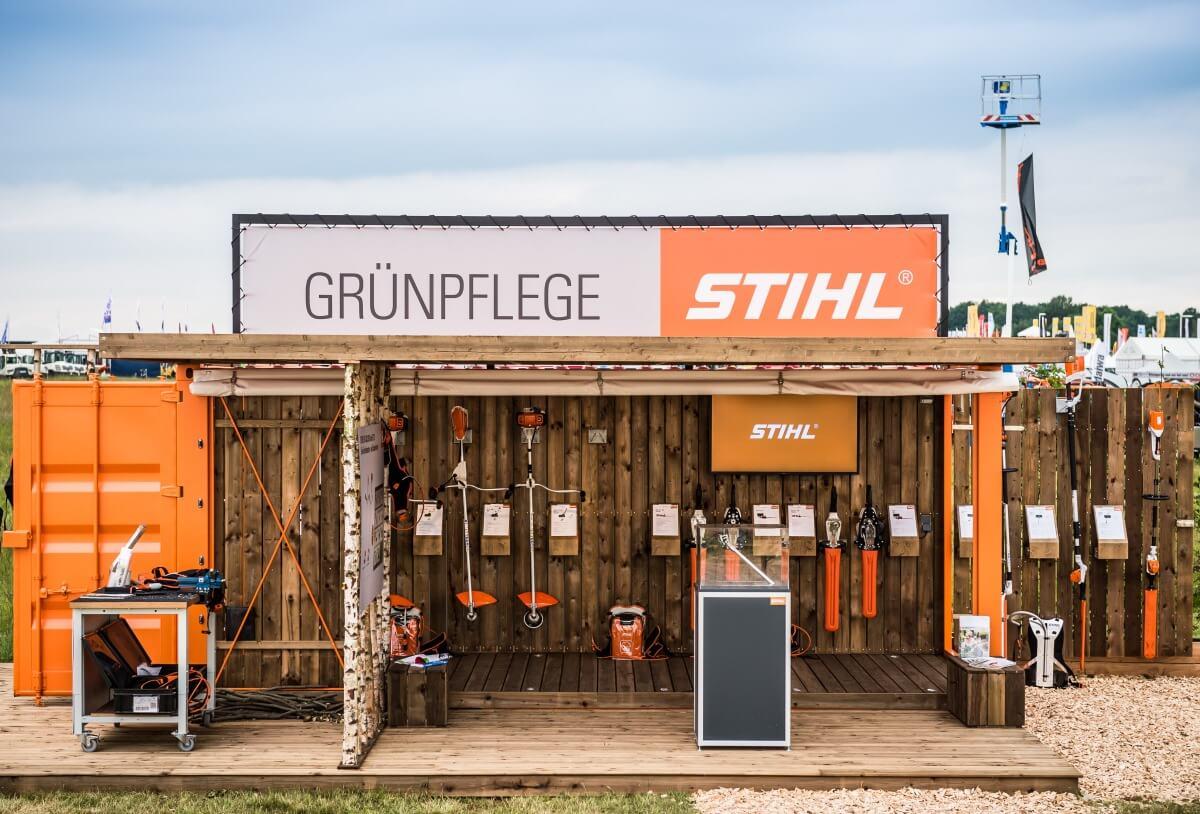 Modular Exhibition Stands For : Exhibition stand stihl demopark i xpo design