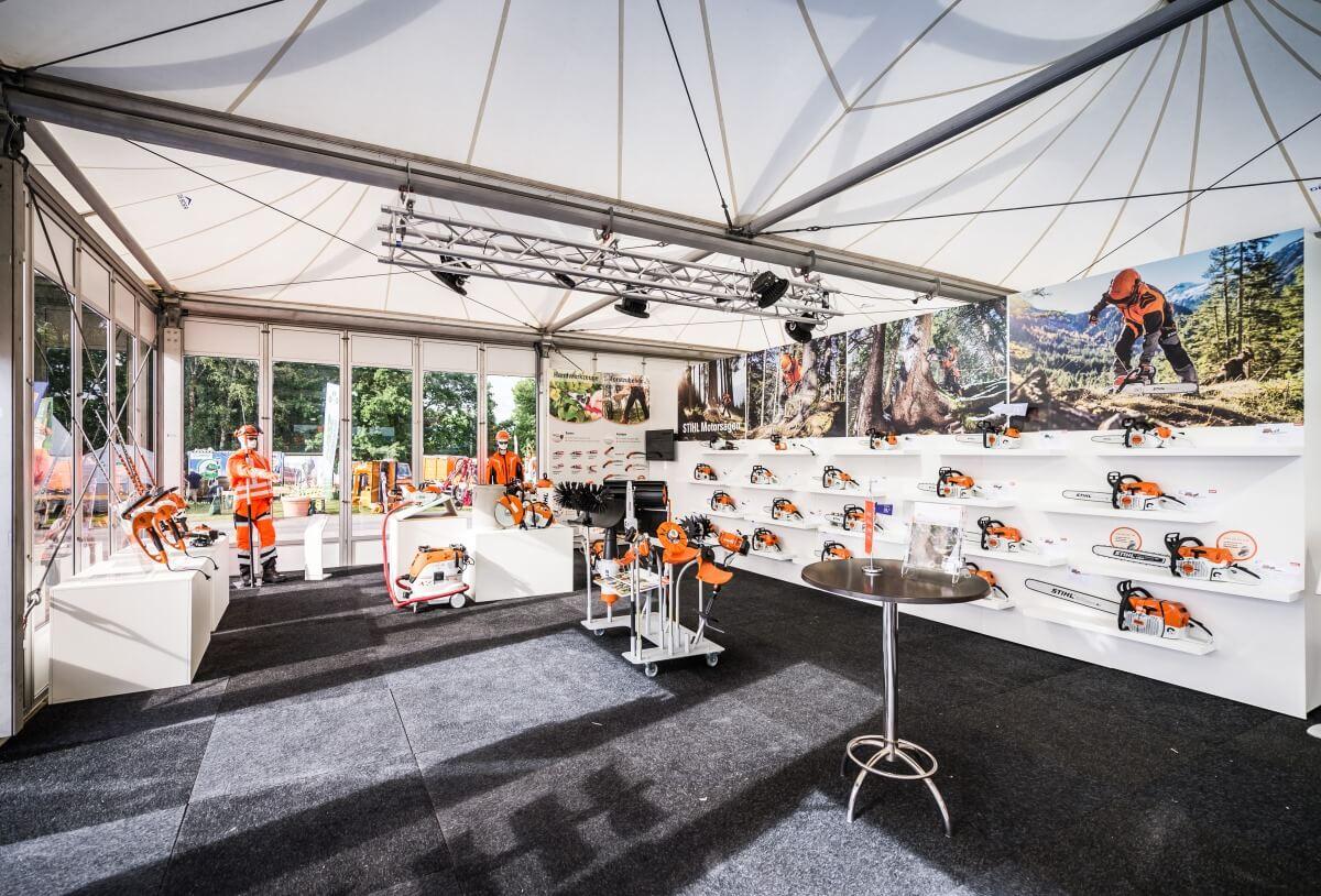 Exhibition stand | STIHL | Demopark 2017 | i.xpo Design + Construction
