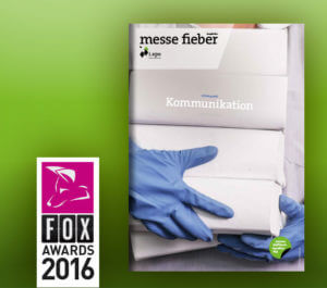 messe.fieber Kommunikation i.xpo Fox Awards 2016