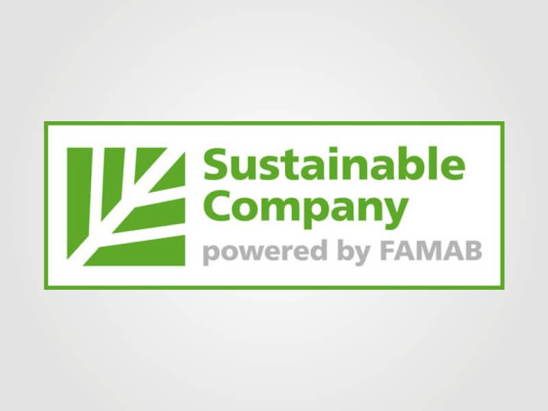 i.xpo Sustainable company powered by FAMAB Nachhaltigkeit